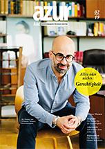 azur Karrieremagazin für junge Juristen. Cover